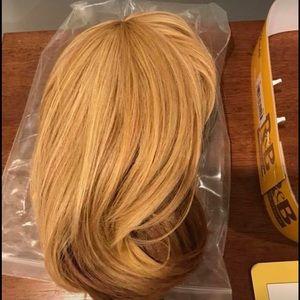 Blonde Wig in original packaging